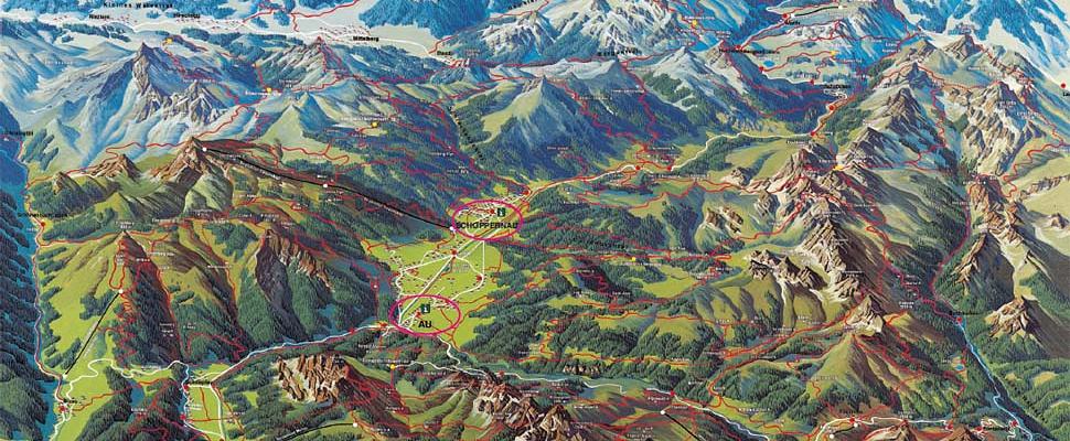 Mountainbike Strecken Bregenzerwald